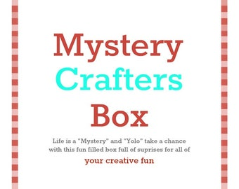 Mystery Box for Crafters