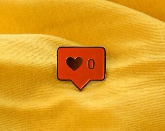NEED MORE LOVE Enamel Pin
