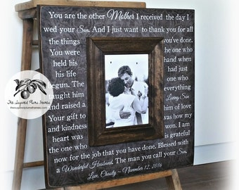 Mother of the Groom Gifts, Mother of the Groom Picture Frame, 16x16 The Sugared Plums Frames