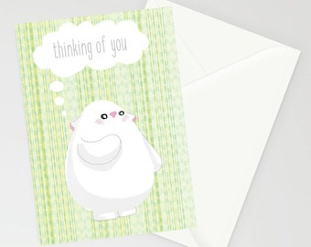 Bostwick Thinking of you A6 card