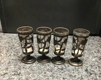 Silver Aperitif Glasses