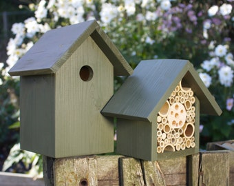 The Birds and the Bees, Old English Green. Can be personalised.