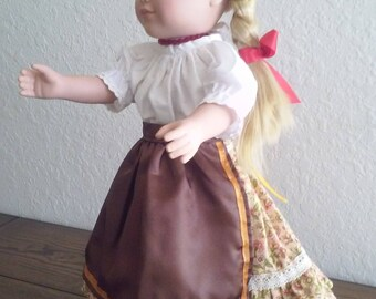 18 Inches Doll - Doll Clothing - Hungarian Folk Dance Doll Dresses- It suits American Girl doll