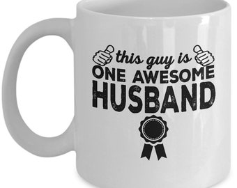 Husband Mug, Gift For Husband, Husband Gift, Husband Birthday, Best Husband Mug, Funny Husband Mug, Gifts For Him, Fathers Day Mug