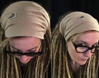 Dreadlocks tube Tube Dreadlocks, Dread, dreadlocks, Dread hat, headband, dreadlock Tam hat, wide wrap, XXL, Microfiber, unisex