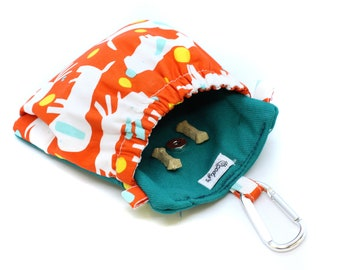 The Pocket 2.0 - Treat and Training Pouch - Orange Dog
