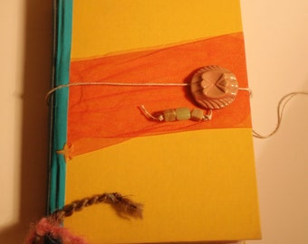 Altered Book/Journal (Yellow)