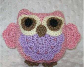 Little Miss Princess Owl Crochet Pattern