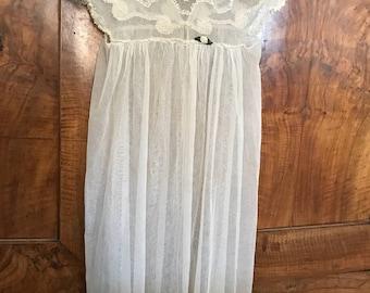 Antique christening gown.