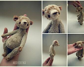 Artist Teddy bear pattern 6 inch by medveduska
