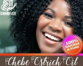 Chebe Ostrich Oil - This Oil is VERY THICK and comes in a Jar.  Authentic Chebe From Chad Infused Into Ostrich Oil with no Olive Oil