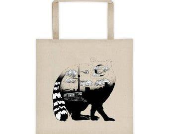 Raccoon Toronto Tote bag