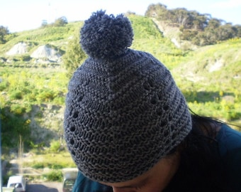 READY TO SHIP - Grey Beanie