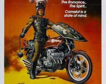 Spring Sales Event: Knightriders Movie POSTER (1981) Drama/Action