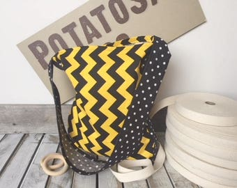 PACK-CHEV PotatoSac packable cotton shopping tote. Made in Wilmer BC Canada