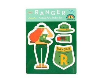 Park Ranger Sticker Set