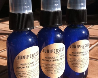 Welcome Home Aromatherapy Mist for the Holidays - Glass Bottle