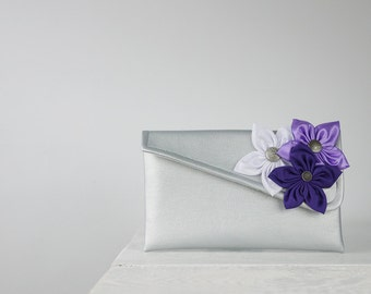 Purple Clutch | Bridesmaid Clutch | Custom Clutch in your choice of color