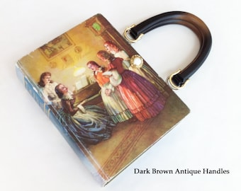 Little Women Recycled Book Purse - Little Women Book Cover Handbag - Little Women Book Clutch - Literary Gift - Birthday Gift - Bookish Gift