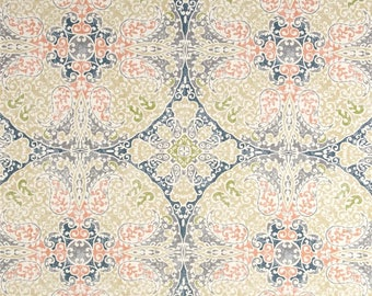 Galileo Navy, Magnolia Home Fashions - Cotton Upholstery Fabric By The Yard
