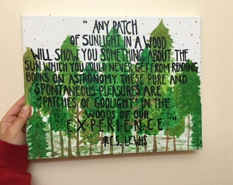 """Nature Canvas Painting 