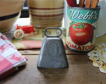 Vintage Cow Bell, Vintage Cowbell, Metal Cow Bell, Farmhouse Bell, Farm Bell, Livestock Bell, Western, Farmhouse Decor