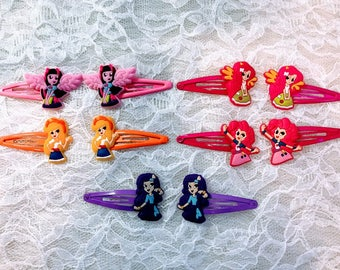 4 Pair,Hair Clips Pony Baby Hair Clips, Accessories.