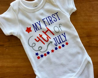 First 4th of July , baby's first 4th of July