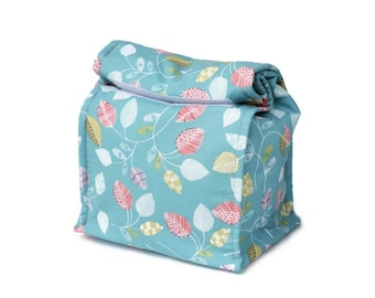 Insulated lunch bag - Leaves