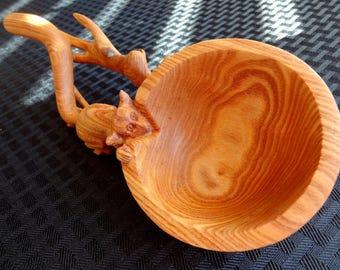 Wooden Lemur Spoon