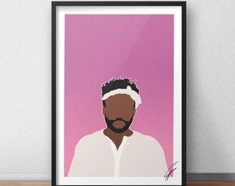 Childish Gambino INSPIRED Print / Poster
