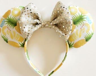 Pineapple Dole Whips & Floats Mouse Ears