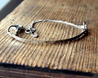 Handmade Sterling Silver Bracelet, 925 silver
