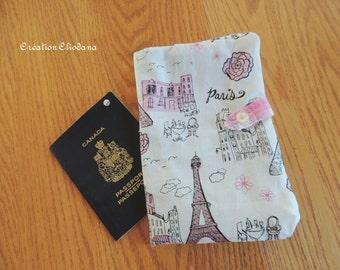 travel passeport wallet - passeport organizer check receipt or coupon holder