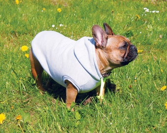 Dog Hoody - Jersey Dog Top - Colorful hoody ribbons  - Dog Clothing - Pet Clothes - Available to Any Breed