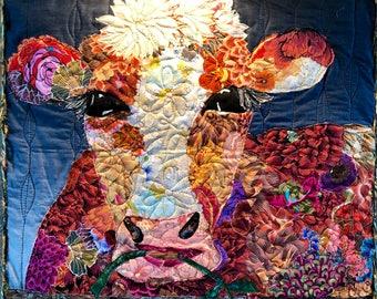 Cow quilt/geraldine