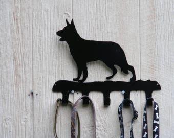 Leash / Key rack German Shepherd