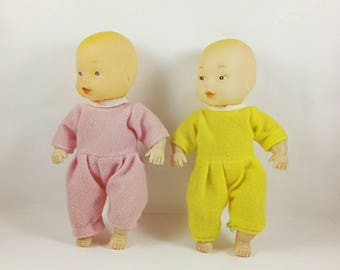 Retro dolls Baby toy Plastic doll Soviet Toys Collectible Retro toy Girl toys Children collector Dolls