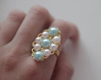 18th Century inspired Ring Maria Theresa