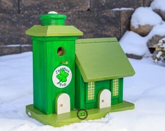 The Irish Pub Birdhouse
