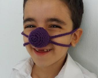 Nose warmer-Crochet Nose Warmer