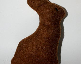 Easter Bunny, chocolate bunny, chick Dog Toy with Squeaker