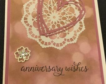 Handmade Anniversary Card