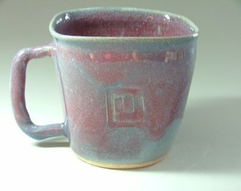 Square Mug with a Square Spiral