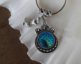 Mermaid Keychain Mermaid Accessories Mermaid Gifts Keys