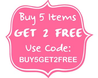 Coupon Sale Discount Coupon Codes buy 5 get 2 free Christmas Coupon Gift Coupon Christmas SVG cut file Winter SVG Silhouette Cricut