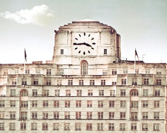"London Photography print,travel photography,large photography - ""Art Deco London"""