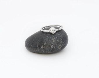 Silver Chunk Ring
