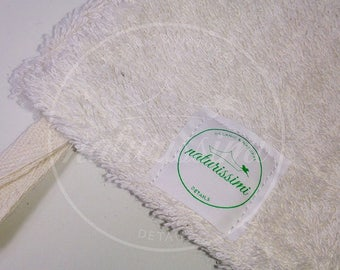Terry wash mitt ORGANIC - 100% organic cotton