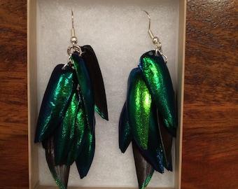 Elytra Cascade Earrings